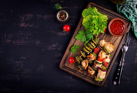 5 غذای سالم با 5 ماده خوراکی سالم
